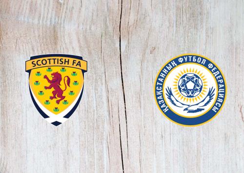 Scotland vs Kazakhstan -Highlights 19 November 2019