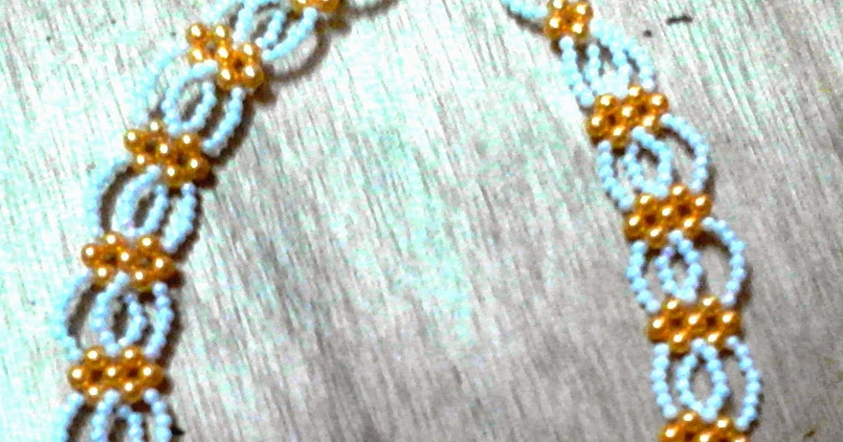 Beadination: Abuja connection beaded necklace and bracelet