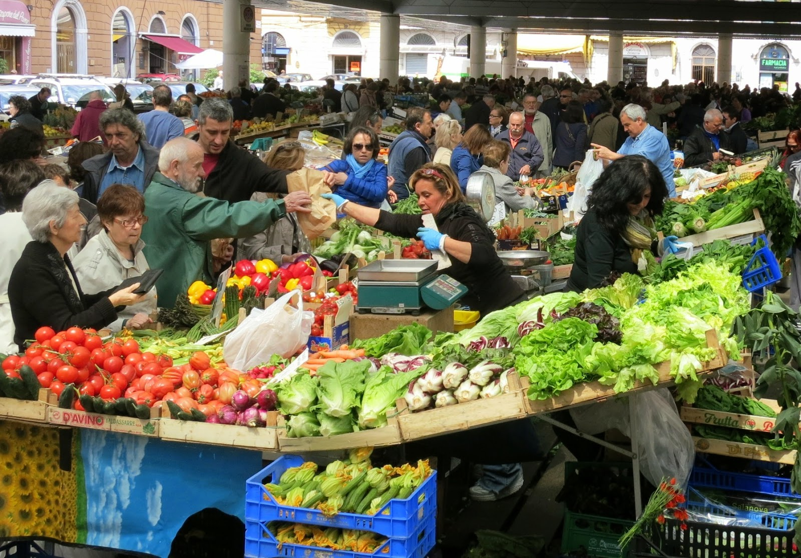La Spezia Covered Outdoor Market