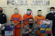 Polda Jatim Amankan Tiga Pelaku Spesialis Manipulasi Dokumen Elektronik