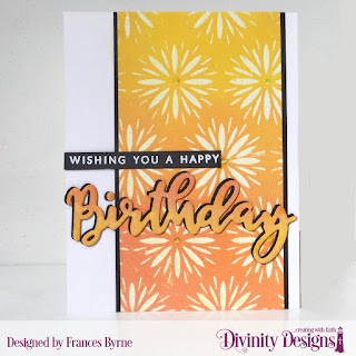 Stamp/Die Duos: Birthday  Mixed Media Stencils: Flower Burst