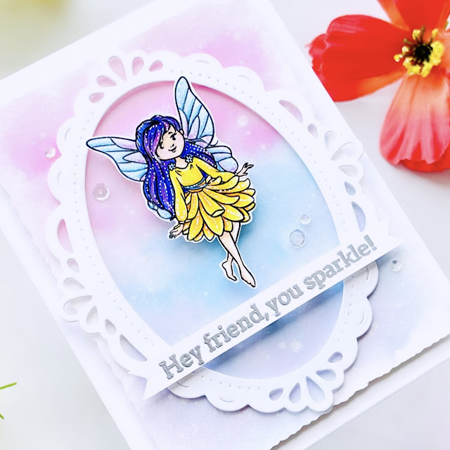 #cardbomb,#maria willis,#tonicstudios,#nuvo,#cards,#handmade,#cardmaker,#fairy,#art,#ink,#color,#diy,#papercraft,#diecutting,#tonicstudiosstampclub,