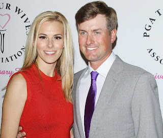Webb Simpson With His Wife