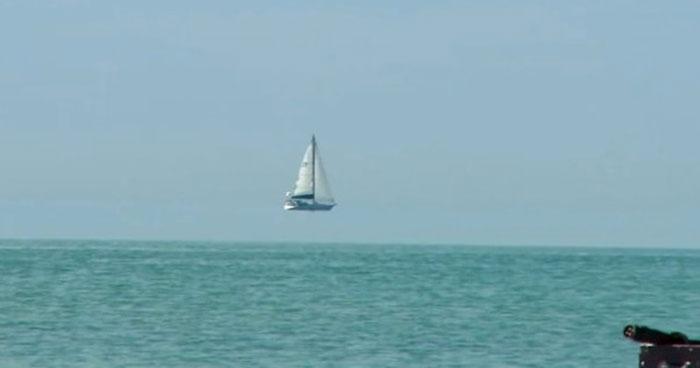 Fata Morgana di Laut
