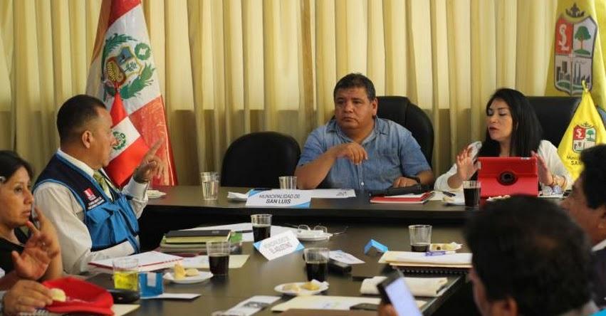 Municipios de Lima Este se unen para buen inicio del año escolar 2019