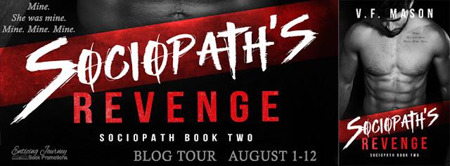 Sociopath's Revenge (Sociopath #2) by V.F. Mason Release Day