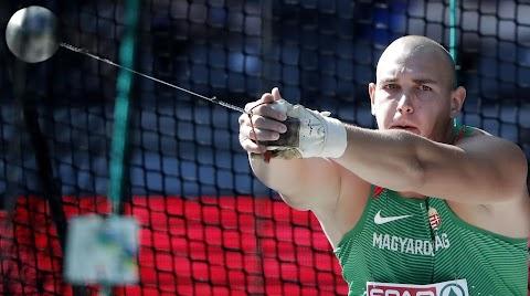 Atlétikai vb - Halász Bence bronzérmes kalapácsvetésben