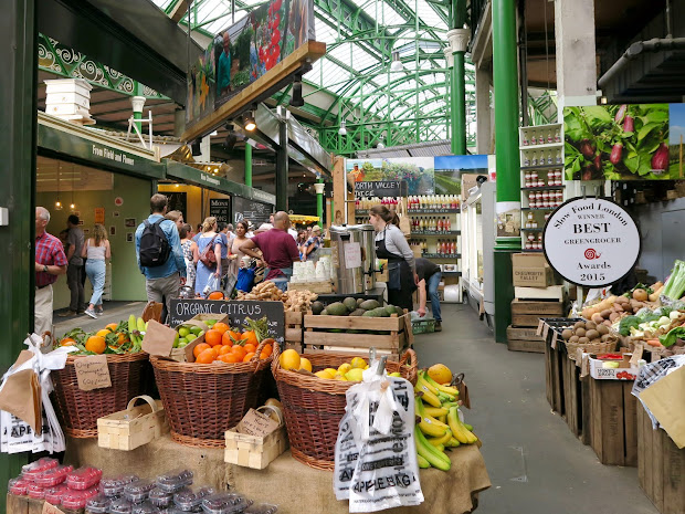 Borough Market London Curiously Conscious