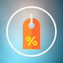 Icon Percentage Calculator Free - Discount, Percent Off