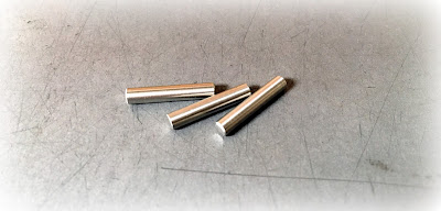 Small Quantity Precision Custom Stainless Steel Dowel Pins - .1160 X .625 Made to Customer's Drawing