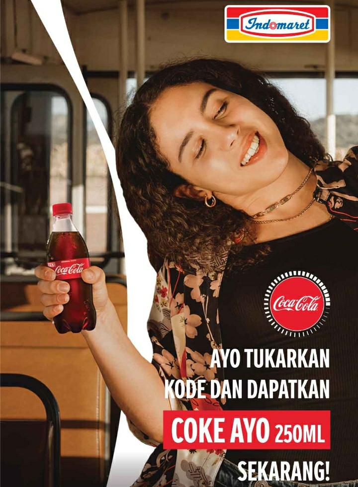 Coca Cola 250ml Gratis