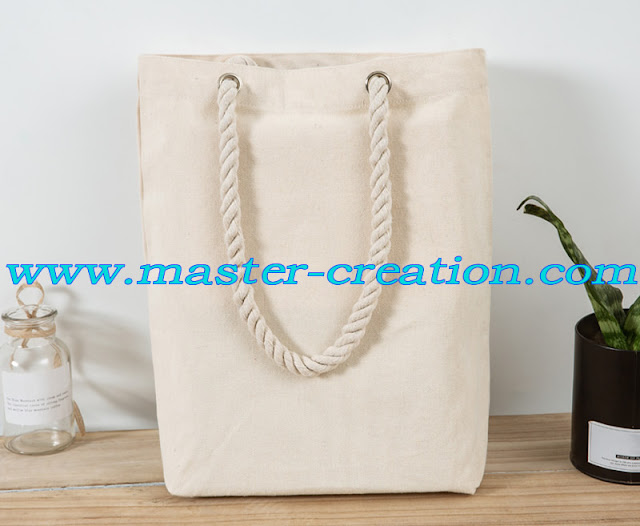 cotton twisted rope bag