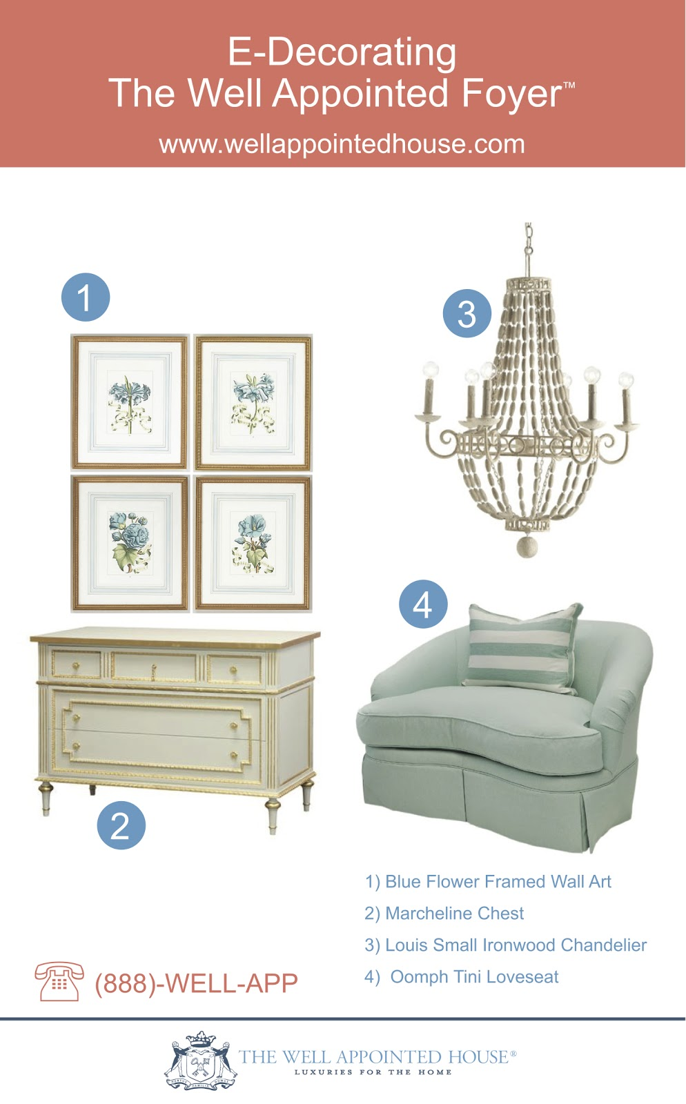 E-Decorating #2: The Well Appointed Foyer – Decor Ideas | The Well ...