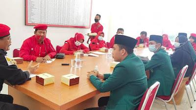 Jalin Silaturahmi, Pelajar Al-Washliyah Kunjungi PDIP Sumut