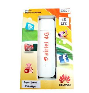 Modem 4G LTE Huawei E3372h-607