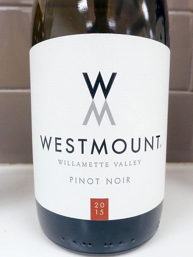 Westmount Pinot Noir 2015 (89 pts)