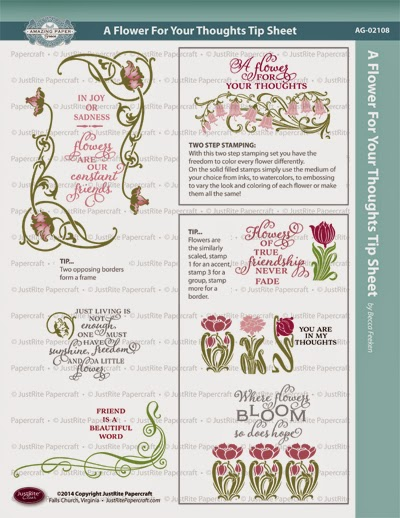 http://blog.justritepapercraft.com/wp-content/uploads/JR-AG-02108-A-Flower-for-Your-Thoughts-TIP-SHEET.pdf