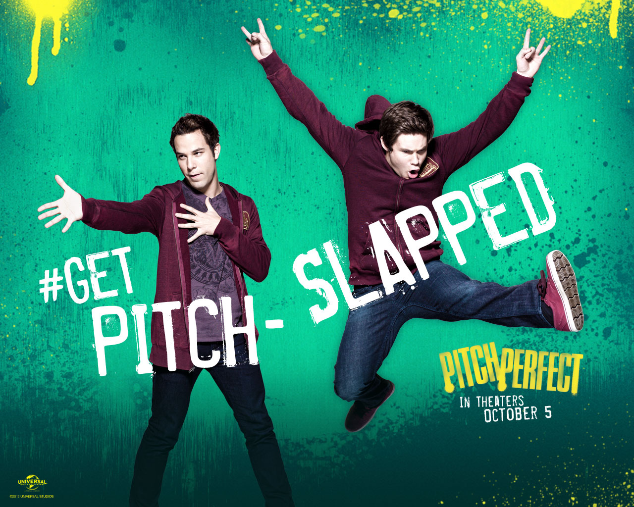 Williams Film Review: Pitch Perfect   Pitch Perfect 2012 Movie Poster