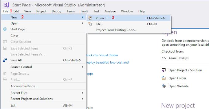 """WPF C#: Membuat Aplikasi Pertama """"Hello World!"""""""