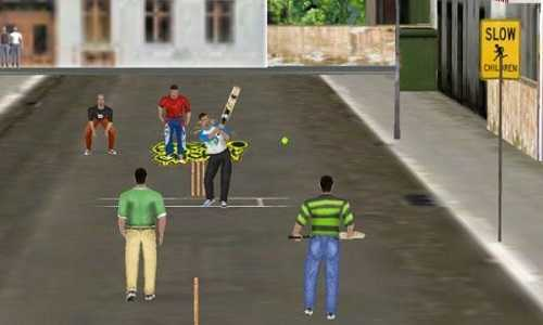 Street Cricket Game Free Download