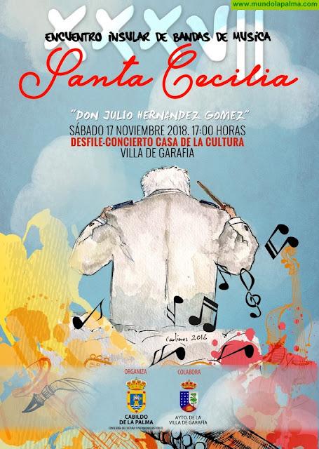 Villa de Garafía acoge este sábado la 37 edición del 'Encuentro Insular de Bandas de Música Don Julio Hernández Gómez'