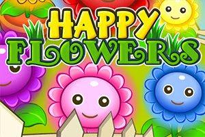 Mutlu Çiçekler - Happy Flowers