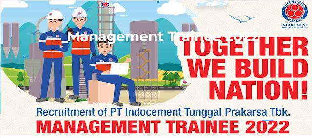 Recruitment of PT Indocement Tunggal Prakarsa Tbk, MANAGEMENT TRAINEE PROGRAM 2022