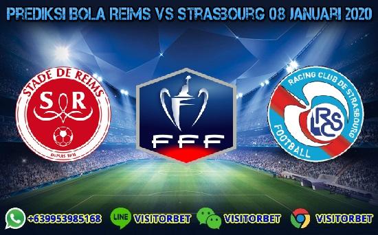 Prediksi Skor Reims vs Strasbourg 08 Januari 2020