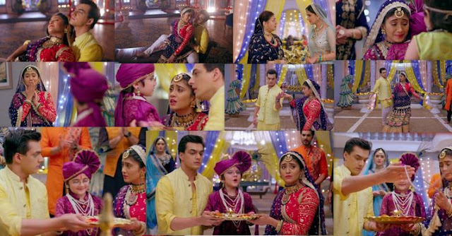 "Yeh Rishta Kya Kehlata Hai Episode 29th August 2019 Written Update "" Naira-Kartik Come Closer Because of Kairav ""."