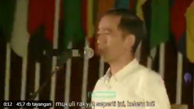 Beredar Video Lawas Jokowi Kritik Pemerintah, Kata-katanya Jadi Sorotan: Rakyat Harus Dilindungi!
