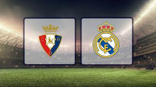 مشاهدة مباراة ريال مدريد وأوساسونا بث مباشر 25-09-2019 الدوري الاسباني