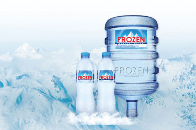 Frozen Air Mineral Sponsor Utama Indonesia vs Islandia