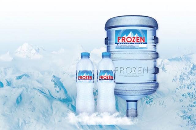 Frozen Air Mineral Sponsor Utama Indonesia vs Islandia