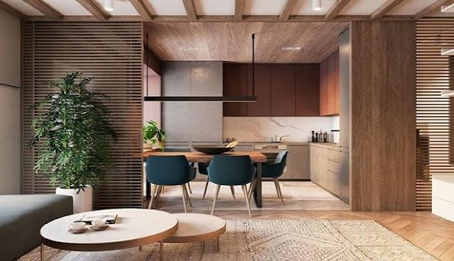 20 Konsep ruang makan rumah minimalis