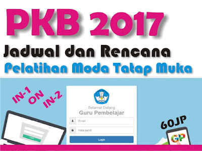 Jadwal Rencana Pelaksanaan Program PKB setelah Pretes UKG  Jadwal Rencana Pelaksanaan Pelatihan Program PKB Setelah Pretes UKG 2017