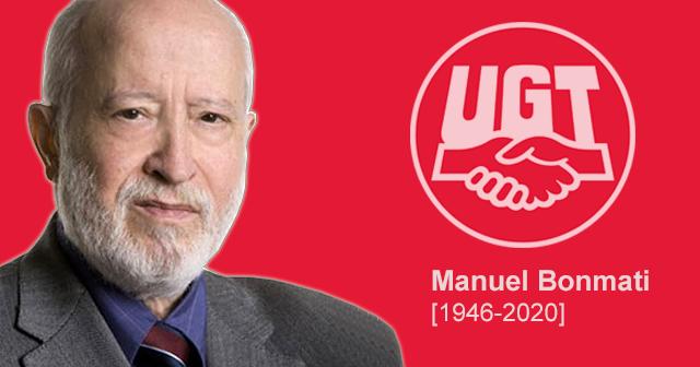 Fallece Manuel Bonmati, ex secretario de Política Internacional de la UGT