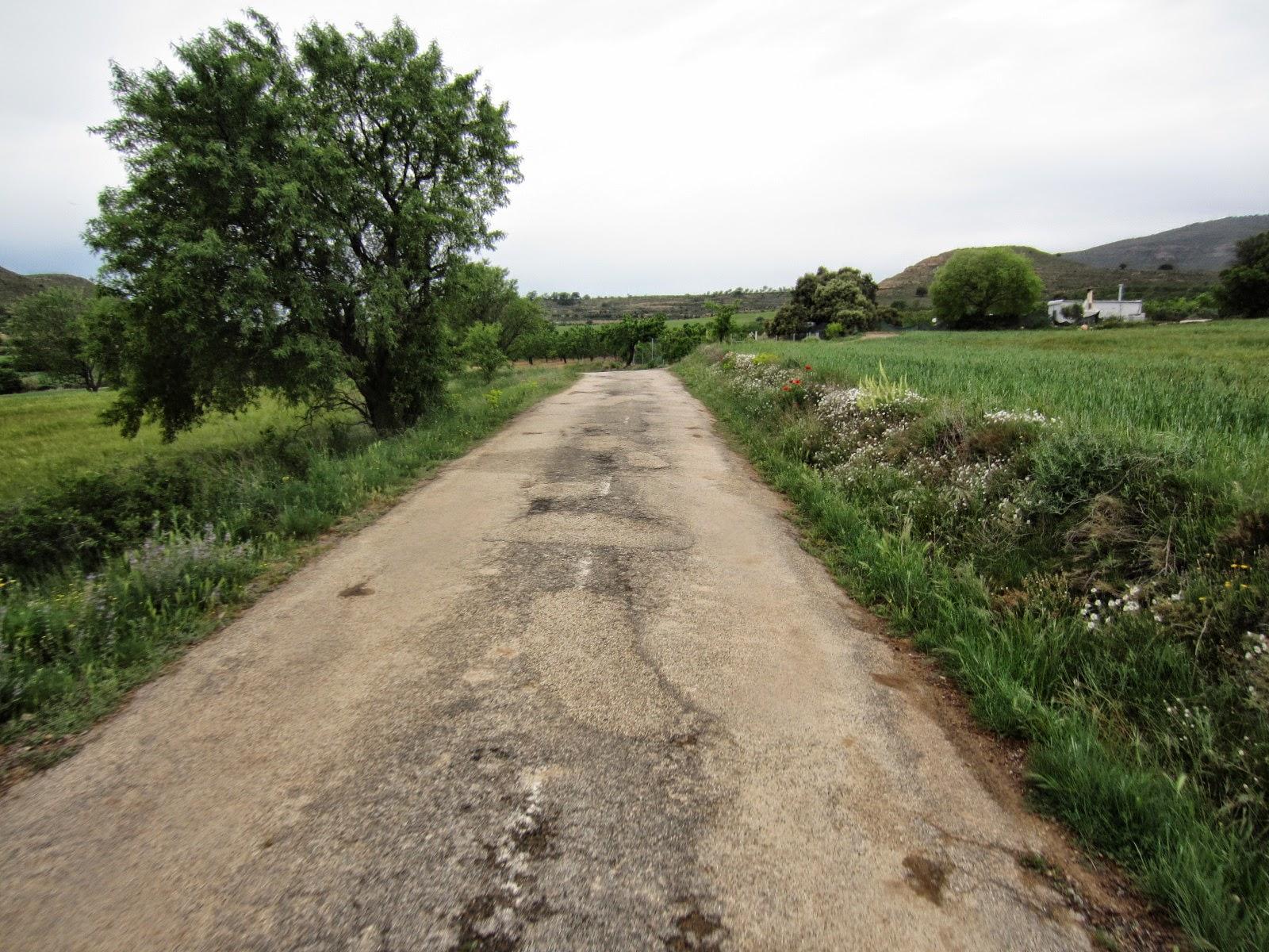 Amb bicicleta cam catala per st joan de la penya 3 maig osca san juan de la penya santa - Casa rufino bolea ...