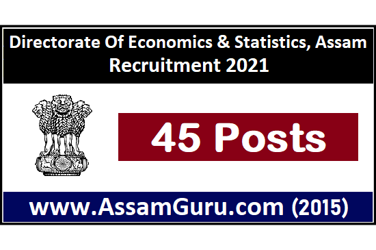 directorate-of-economics-statistics-assam-job
