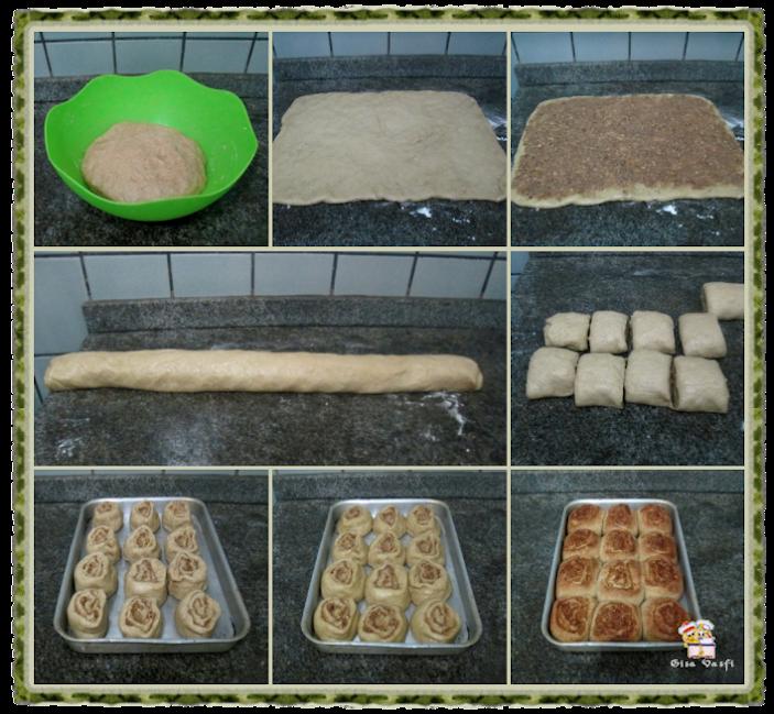 Pão doce de nozes 7