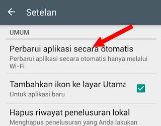 setting play store