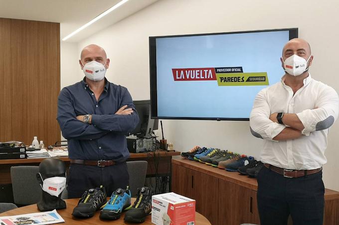 Paredes Seguridad será proveedor de la Vuelta a España