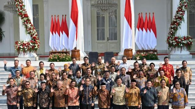 Resmi Diumumkan, Kabinet Jokowi-Maruf Banyak Diisi Wajah-wajah Baru