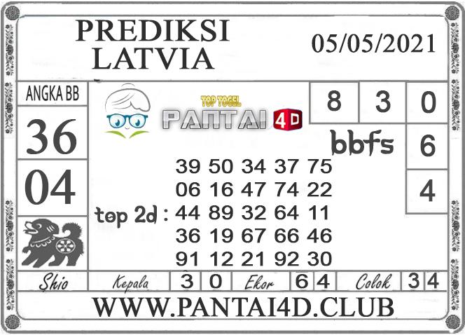 PREDIKSI TOGEL LATVIA PANTAI4D 05 MEI 2021