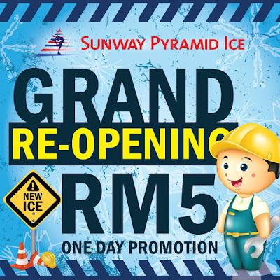 Sunway Pyramid Ice RM5 Ticket Discount Promo