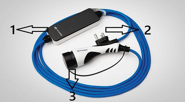 Iccb portable charger hyundai