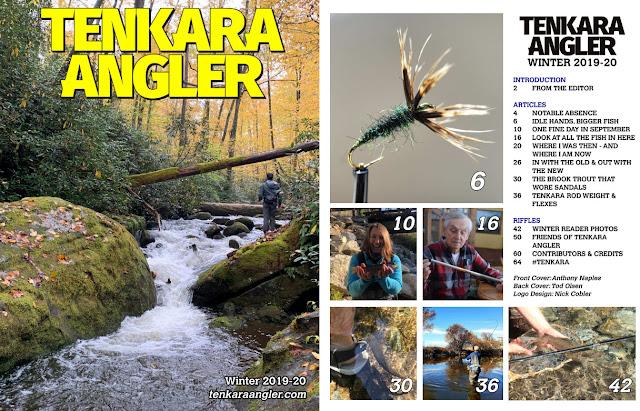 Tenkara Tuesday: Tenkara Angler Magazine Winter 2019-20