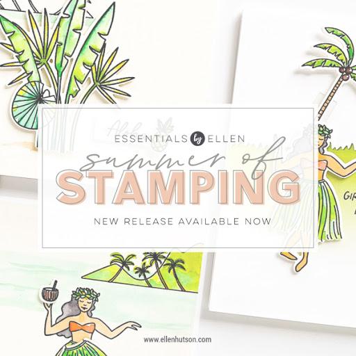 Summer of Stamping with Essentials By Ellen - Week 2