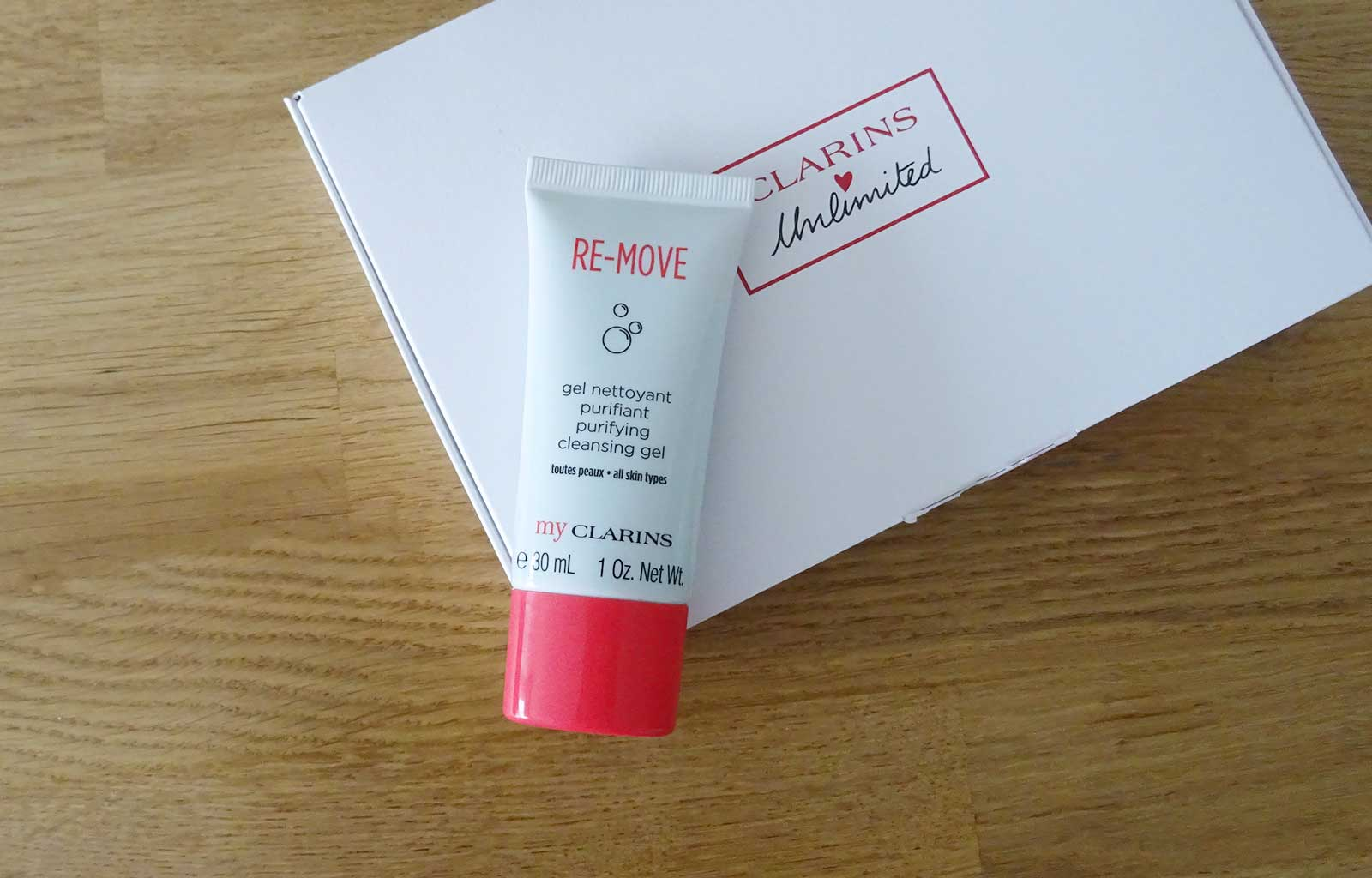 Clarins unlimited my clarins re-move gel nettoyant purifiant