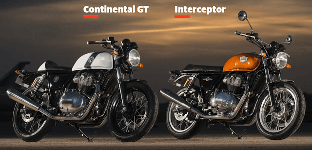 Royal Enfield Motorcycle 650 GT