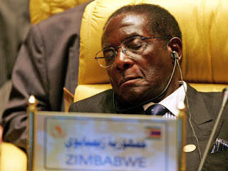 93-year-old President Robert Mugabe